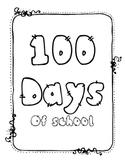 100th day of school Fun