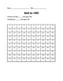 100th day of school: Roll dice to 100
