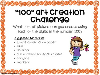 100th day of school STEM 5 activities bundle