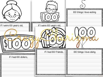 100th day of school activities for Kindergarten and first grade