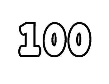 100th day of school creative activity