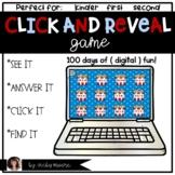 100th day of school digital game | Digital math 100th day