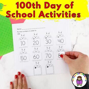 Kindergarten 100 Day of School Activities -Fun, fun, fun!