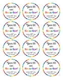 100th day of school gift tags