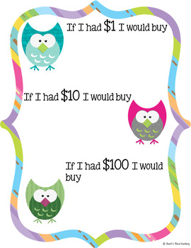 100th Day of School Owl Themed Packet; 100 days workbook printables