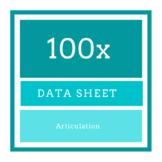 100x Articulation Data Sheet