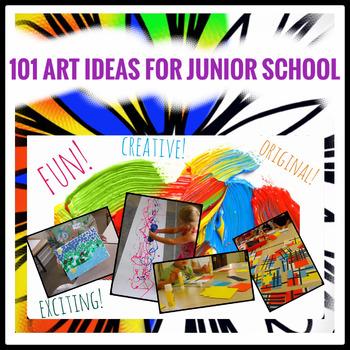 101 Amazing Ideas for Junior School Art Lessons