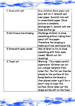 ART. 101 Ideas for Junior School Art Lessons