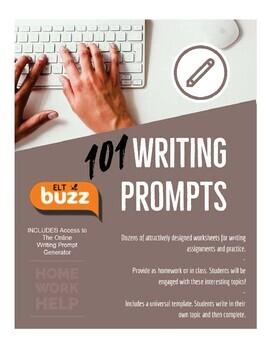 101 Basic Writing Prompt Worksheets
