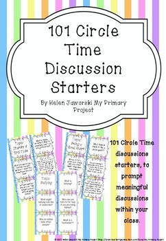 101 Circle Time Discussion Starters