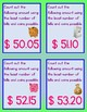 101 Counting Money Practice Cards for Counting Amounts From $50.00 to $100.00