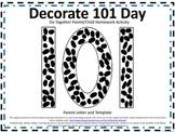 101 Days of School Do Together Parent/Child Homework Activity
