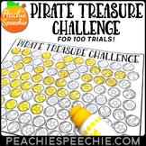 100 Trials Articulation Pirate Treasure Challenge