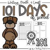 101 Days of School - Headband, Writing, Math, + Craft