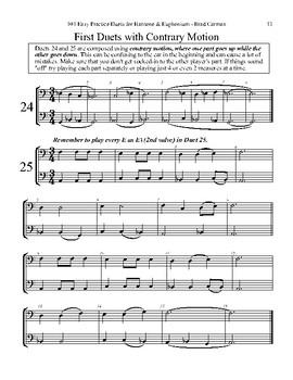 101 Easy Practice Duets for Baritone & Euphonium