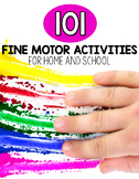 101 Fine Motor Activities | FREE Printable List