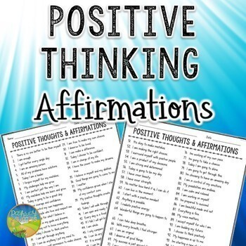 101 Positive Thinking Affirmations