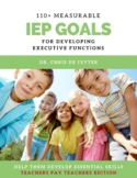 110+ Measurable IEP Goals and Objectives for Developing Executive Functions