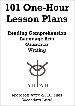 101 One-Hour Lesson Plans or Activities