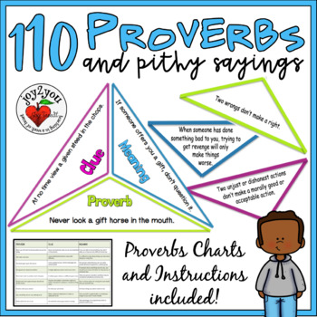 Proverbs And Pithy Sayings 101 Triangles By Joy2you Tpt