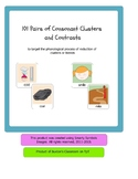101 Pairs of Consonant Cluster Contrast Pictures