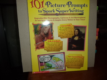 101 Picture Prompts to Spark Super Writing ISBN 0-590-18738-4
