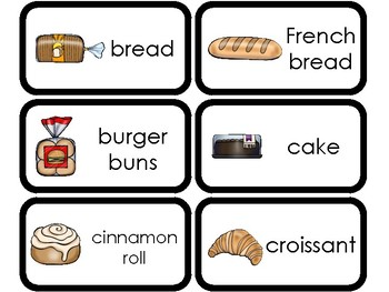 101 Printable Grocery Store Food Flashcards. Health and Nutrition.