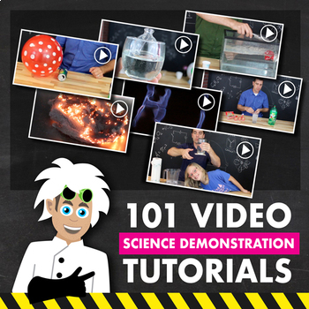 101 Science Demonstration Video Tutorials