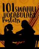 101 Swahili Vocab Posters (Printable PDF)
