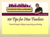 101 Tips for New Teachers