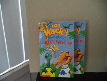 101 Wacky Facts About Snakesd Reptiles  ISBN 0-590-44891-9