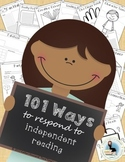 Reader's Workshop - 101 Ways to Respond to Independent Reading Distance Learning