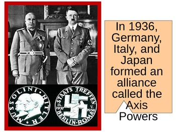 UNIT 12 LESSON 12. World War II Test Review POWERPOINT
