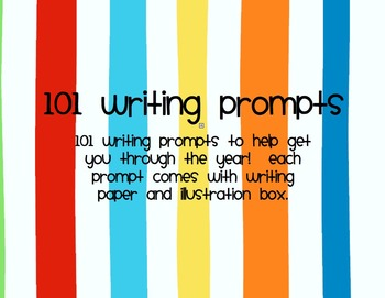Writing Prompts: 101 Prompts to get you through the year!