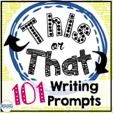 101 Writing Prompts - Daily Writing Warm-Up - Bell Ringer Journal
