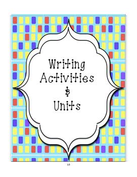 101 Writing Strategies Booklet