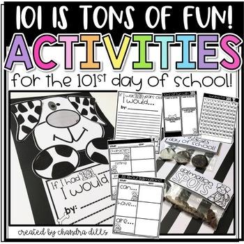 101 is TONS of FUN! 101st Day of School Activities!