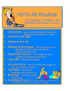 Physical Education - 10/10 Ab Workout