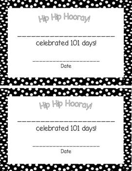 101st Day Fun!