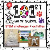 101st Day of School STEM Challenges & Flipbook {8 challeng