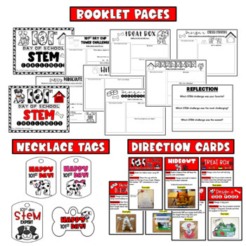 101st Day of School STEM Challenges