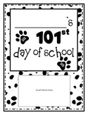 101st Day of School Activity Packet