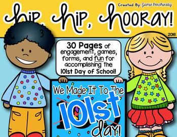 101st Day of School Activities Pack!