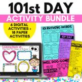 101st Day of School Bundle - Google Slides Digital PLUS Pr