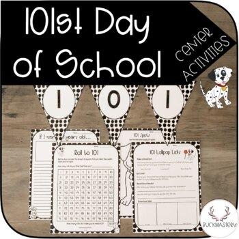 101st Day of School Center Activities