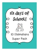 101st Day of School! {Dalmatian Super Pack}