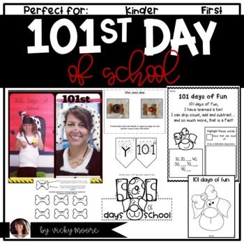 101st day of school { dalmatian fun }