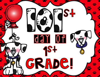 101st day of school sign to hold for a photo!