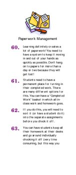 102 Classroom Set-up Tips for the Organized Teacher