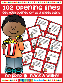 Opening Lines Scene Starters - Get your Drama scenes off to a great start!